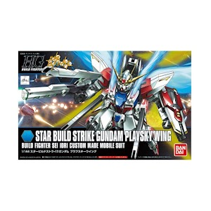 Bandai HG Star Build Strike Gundam Plavsky Wing Model Kit [1:144]