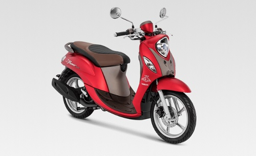 Warna Fino Grande 125 Terbaru Luxury Red
