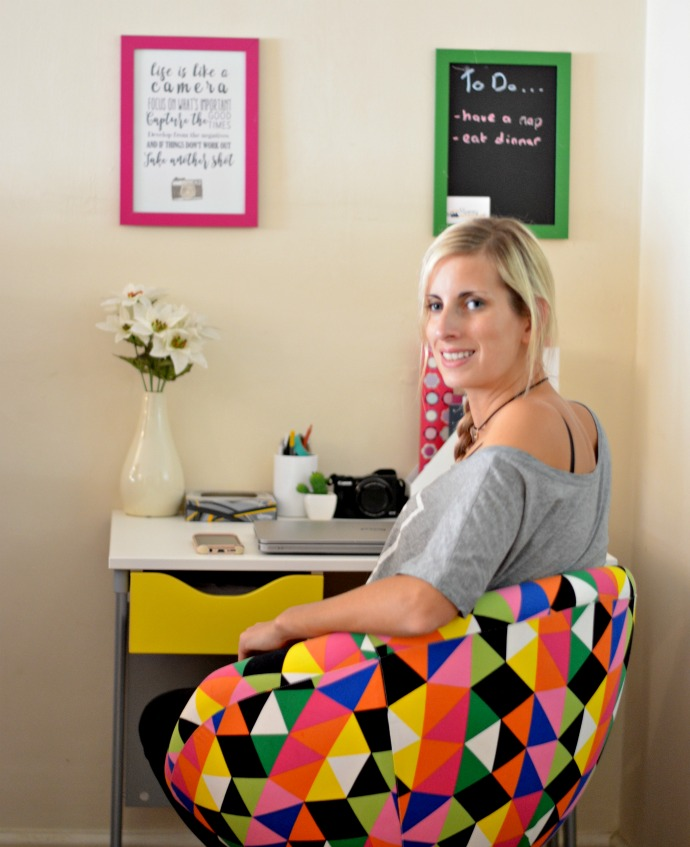 Colour Pop Blogging Work Space