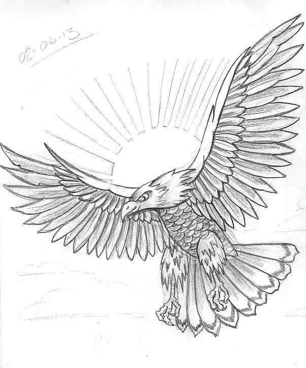 bird wings tattoo