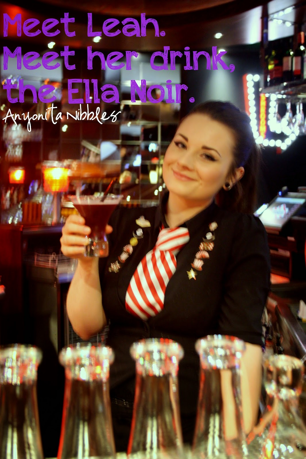 Leah, the creator of Manchester's exclusive Ella Noir