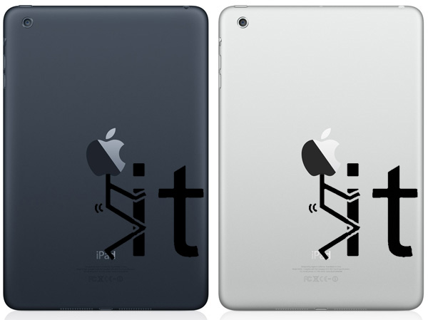 F it iPad Mini Decals