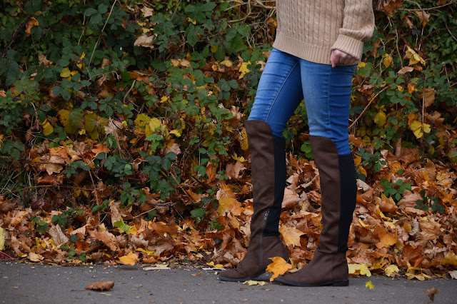 h&m brown boots