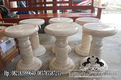 Kursi Marmer Bulat | Harga Kursi Marmer