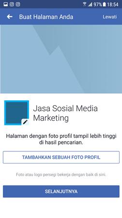 Cara Membuat Halaman Fanspage Di Facebook Lewat HP Lengkap