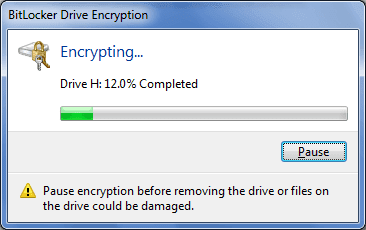 bitlocker drive encryption Put Password On USB Pendrive