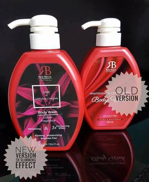 PEK TERBARU RED BELLA BODY WASH 2017