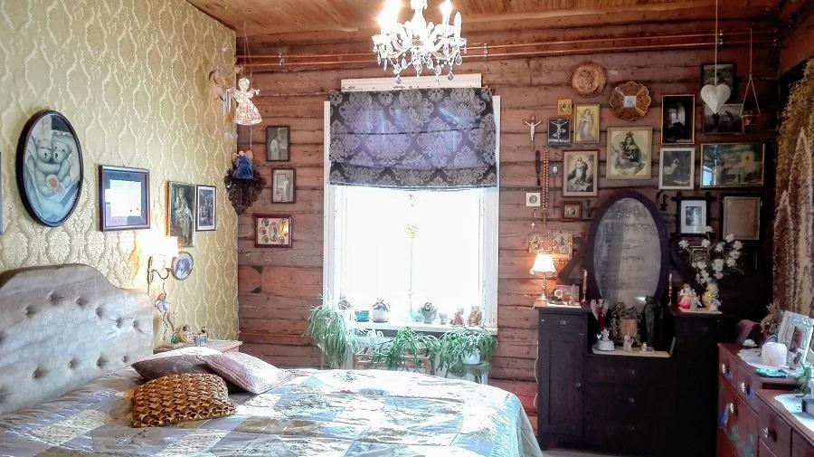 boheemi sisustus vanha talo