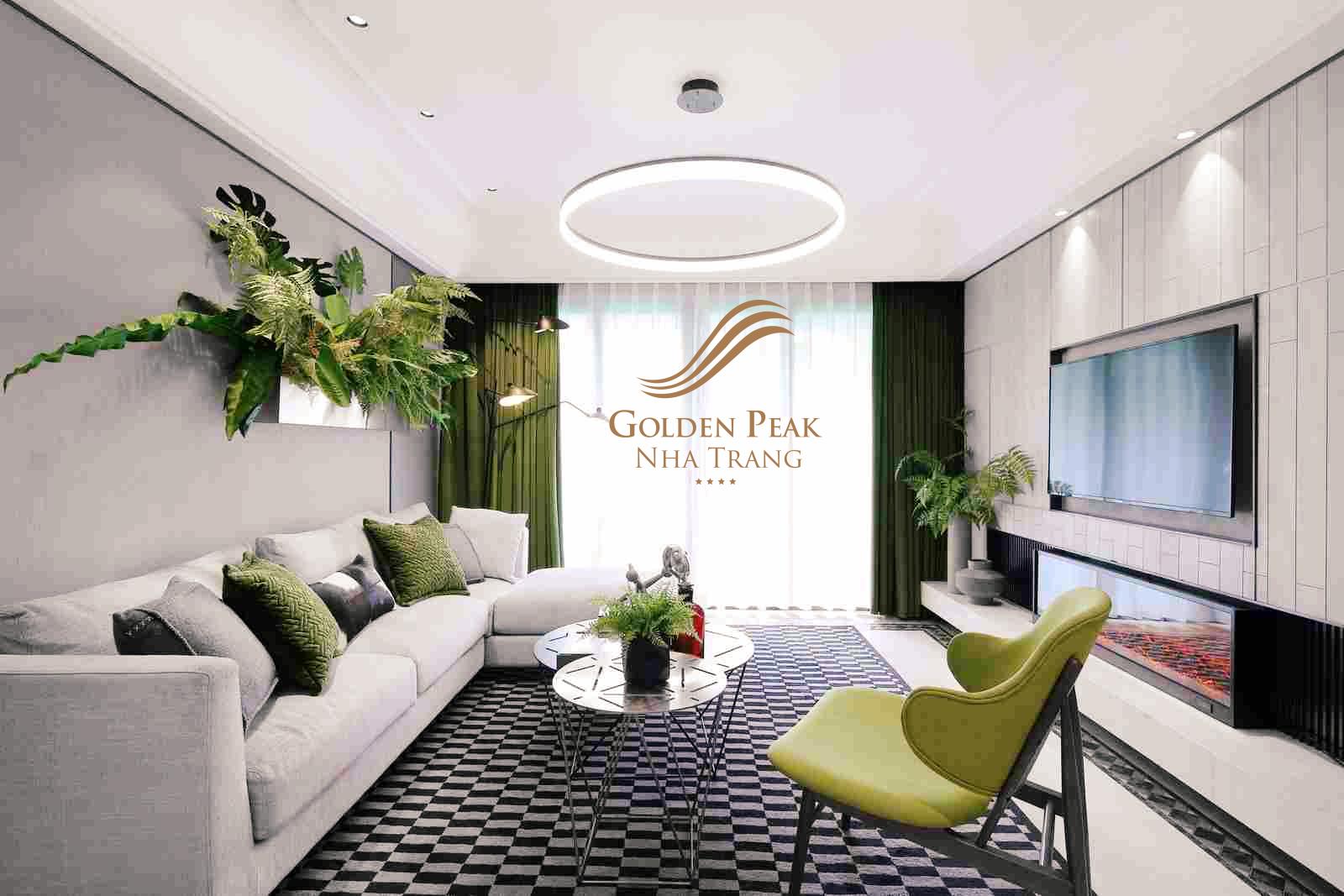 Căn hộ dự án Golden Peak Nha Trang