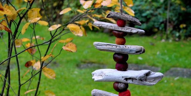 Gartendeko aus Naturmaterialen