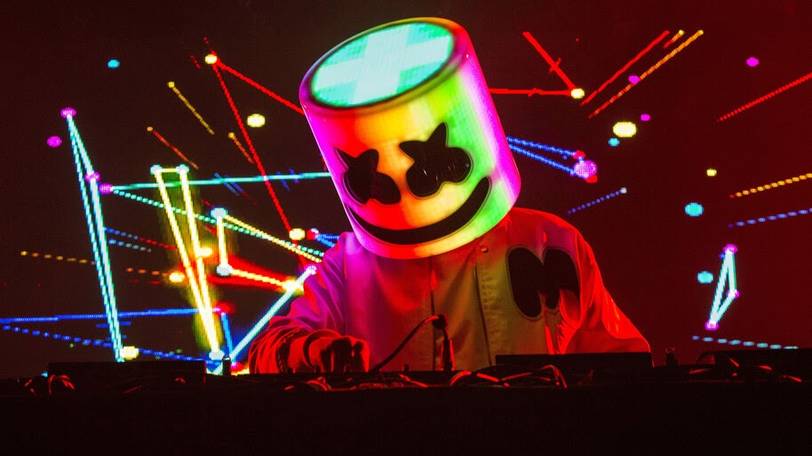 DJ, Marshmello, Live, 4K, #4.1392