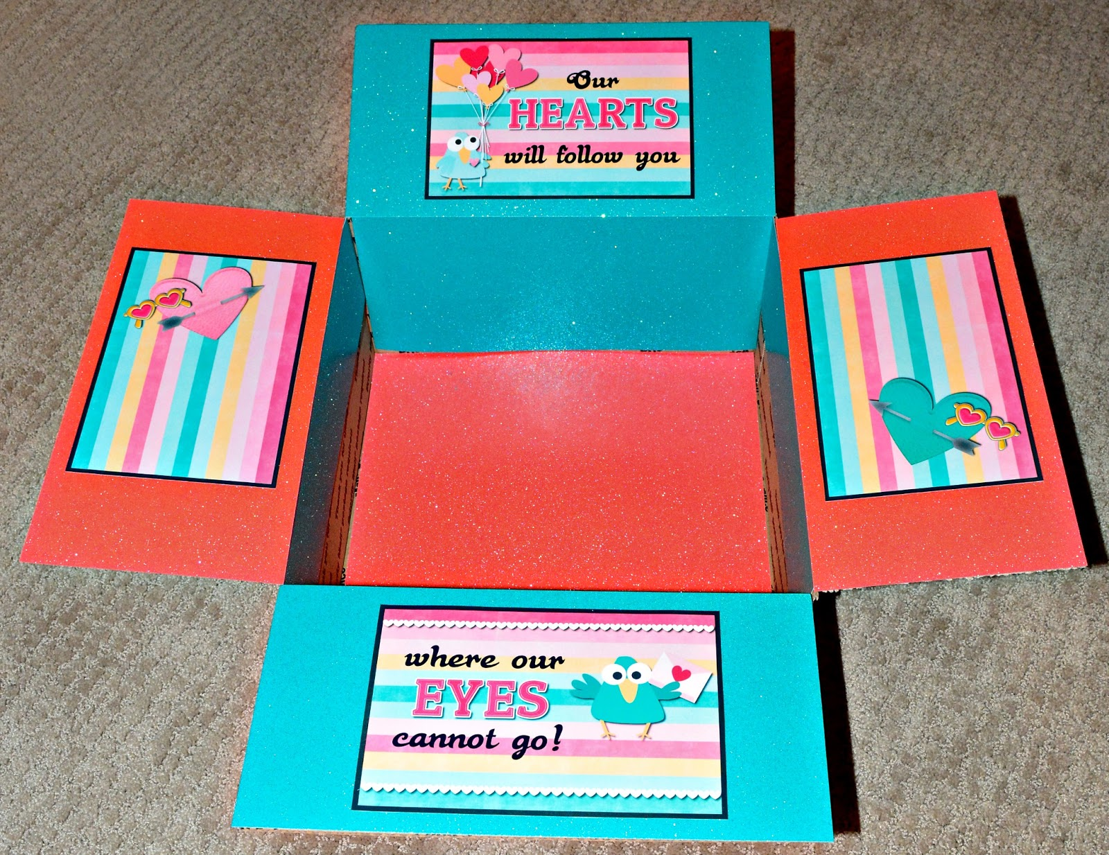 Lds missionary care package kits ideas missionary box moms missionary valentines day box negle Images