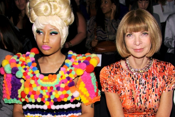 Nicki+Minaj+Bonds+With+Anna+Wintour