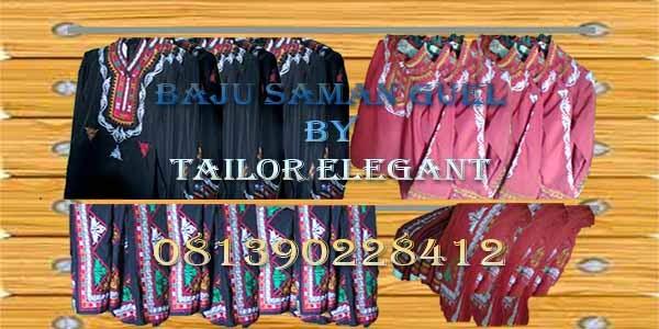 baju tari saman produksi tailor elegant
