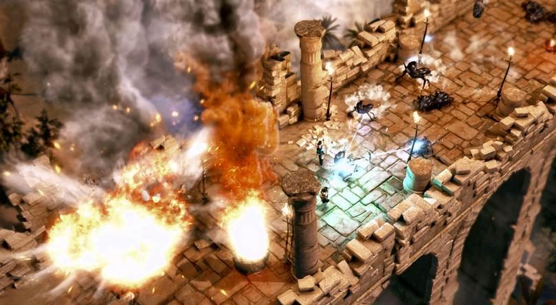 Lara Croft and the Temple of Osiris español mega