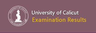 Calicut University Result 2019