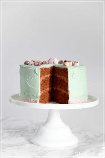 Ultimate Chocolate Easter Layer Cake