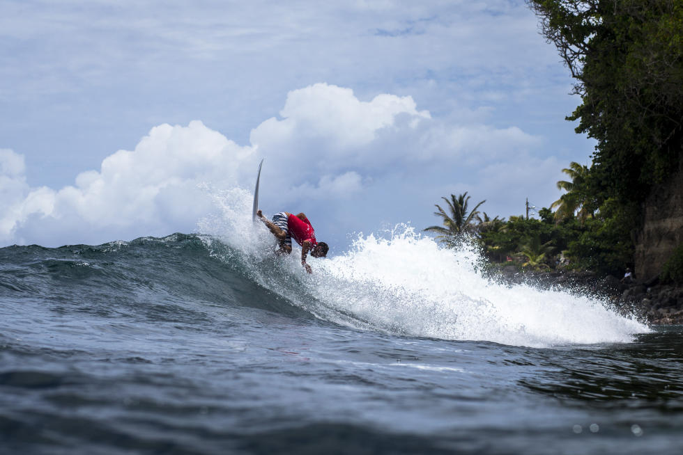 0 Joan Duru FRA Martinique Surf Pro foto WSL Poullenot Aquashot