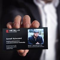 Samuli Koivulahti Netello käyntikortti 2017-2019
