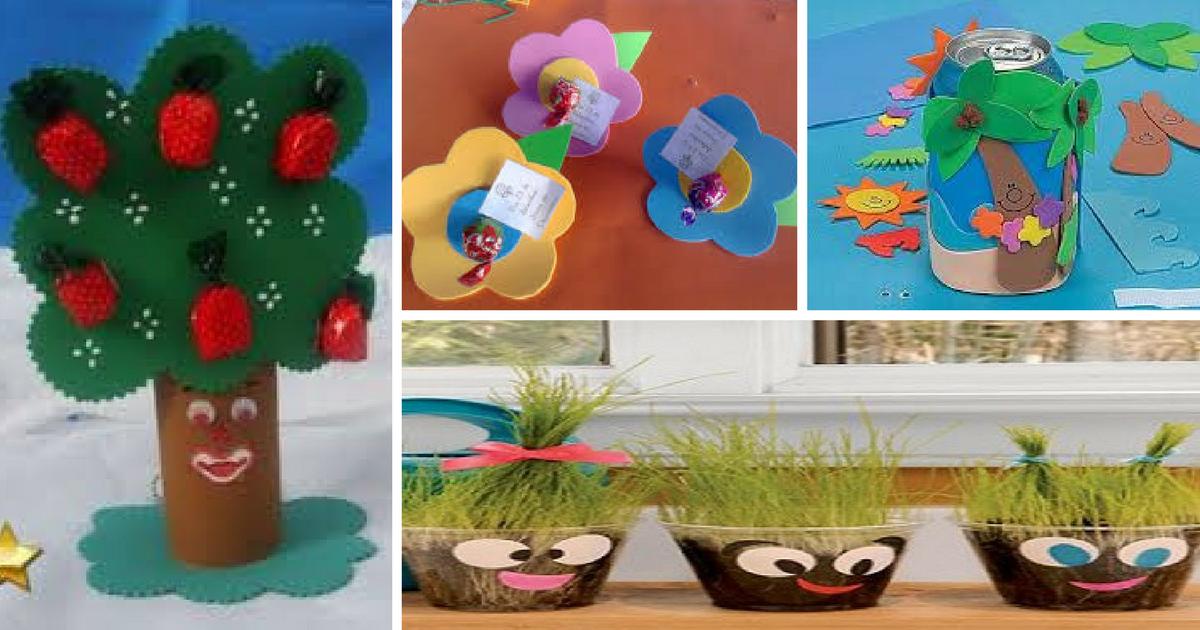 O Que Mais Vende Em Artesanato ~ Ideias de lembrancinhas para o dia do Meio Ambiente u2014 SÓ ESCOLA