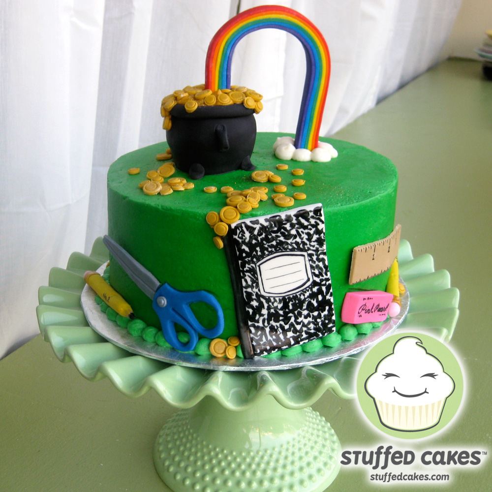 Seattle Car Auction >> Stuffed Cakes: St. Patrick's Day School Auction Cake