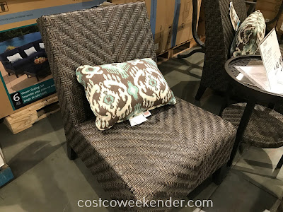Costco 1500045 - Agio International Fairmont Woven Seating Set: great for entertaining and lounging around outside