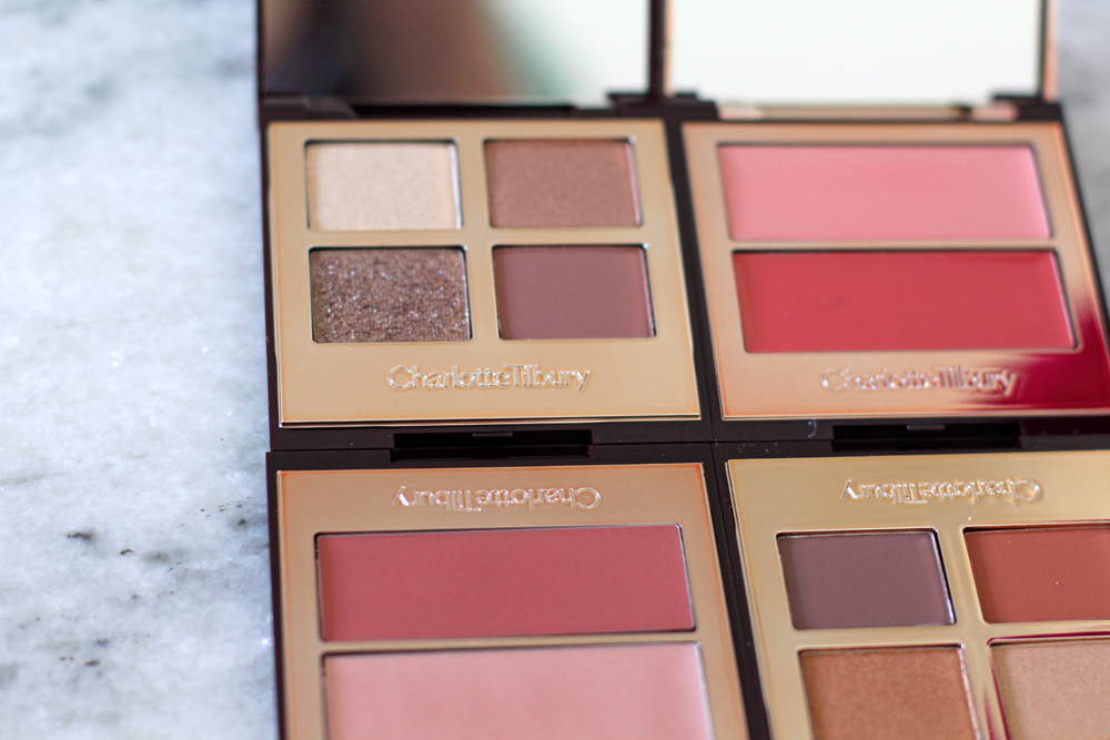 Charlotte Tilbury Beauty Filter palettes - luxury beauty blog