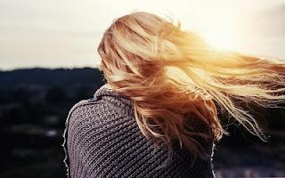 Capelli biondi al sole
