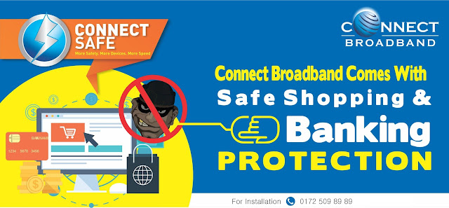 Safe Online Banking and Shopping With Connect Safe