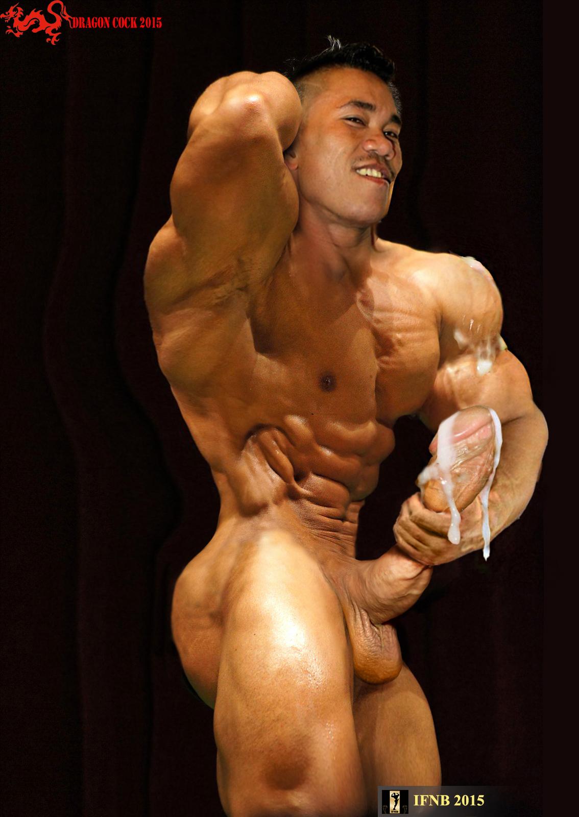Big Muscular Gay Cock - Hot Nude-6399