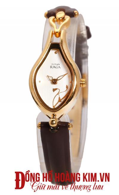 đồng hồ nữ dây da đẹp dạng lắc tay