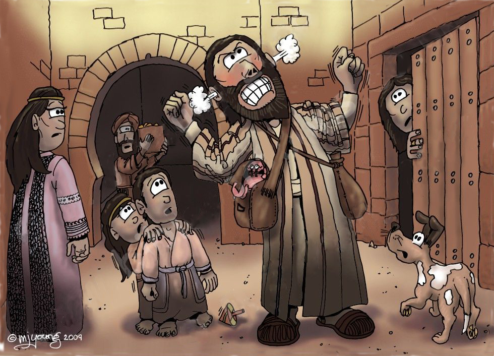 Jonah's angry reaction was perhaps he felt that his professional reputation as a prophet was at stake.