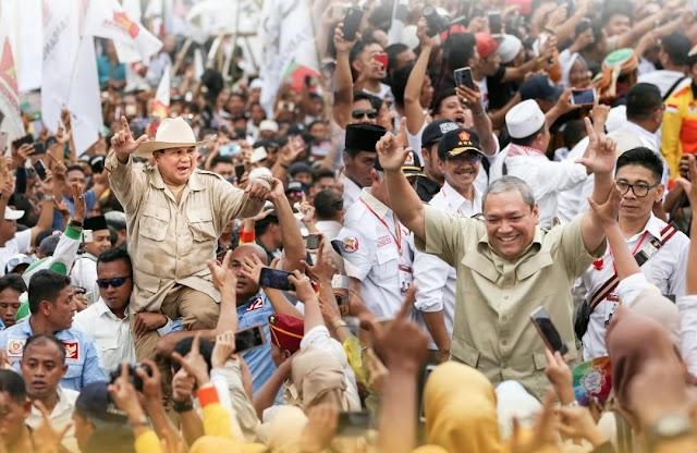 Prabowo Subianto : HBK Bisa Dipercaya, Menangkanlah.
