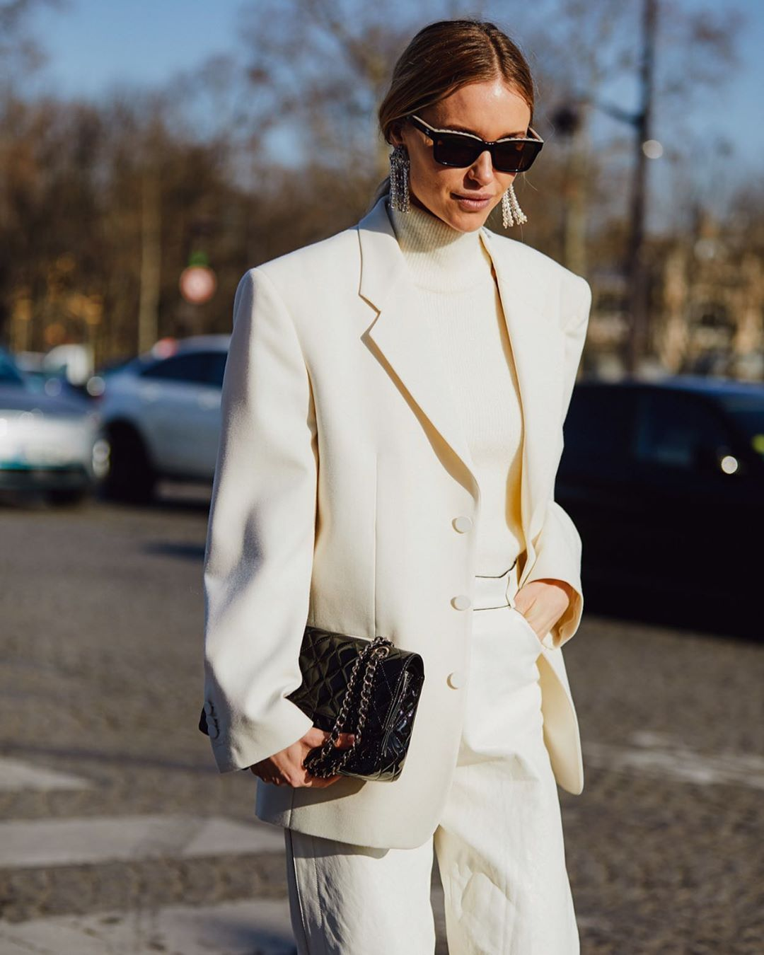 We Love a White Blazer for Spring