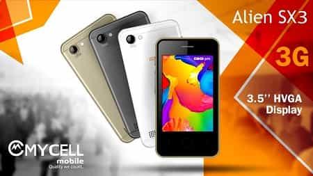 Mycell Alien SX3 Smartphone