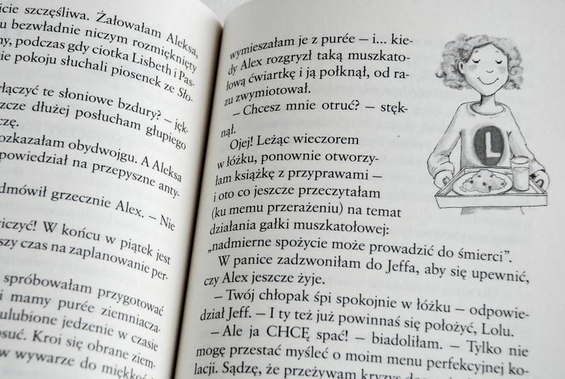 Tekst z przykładową ilustracją Dagmar Henze