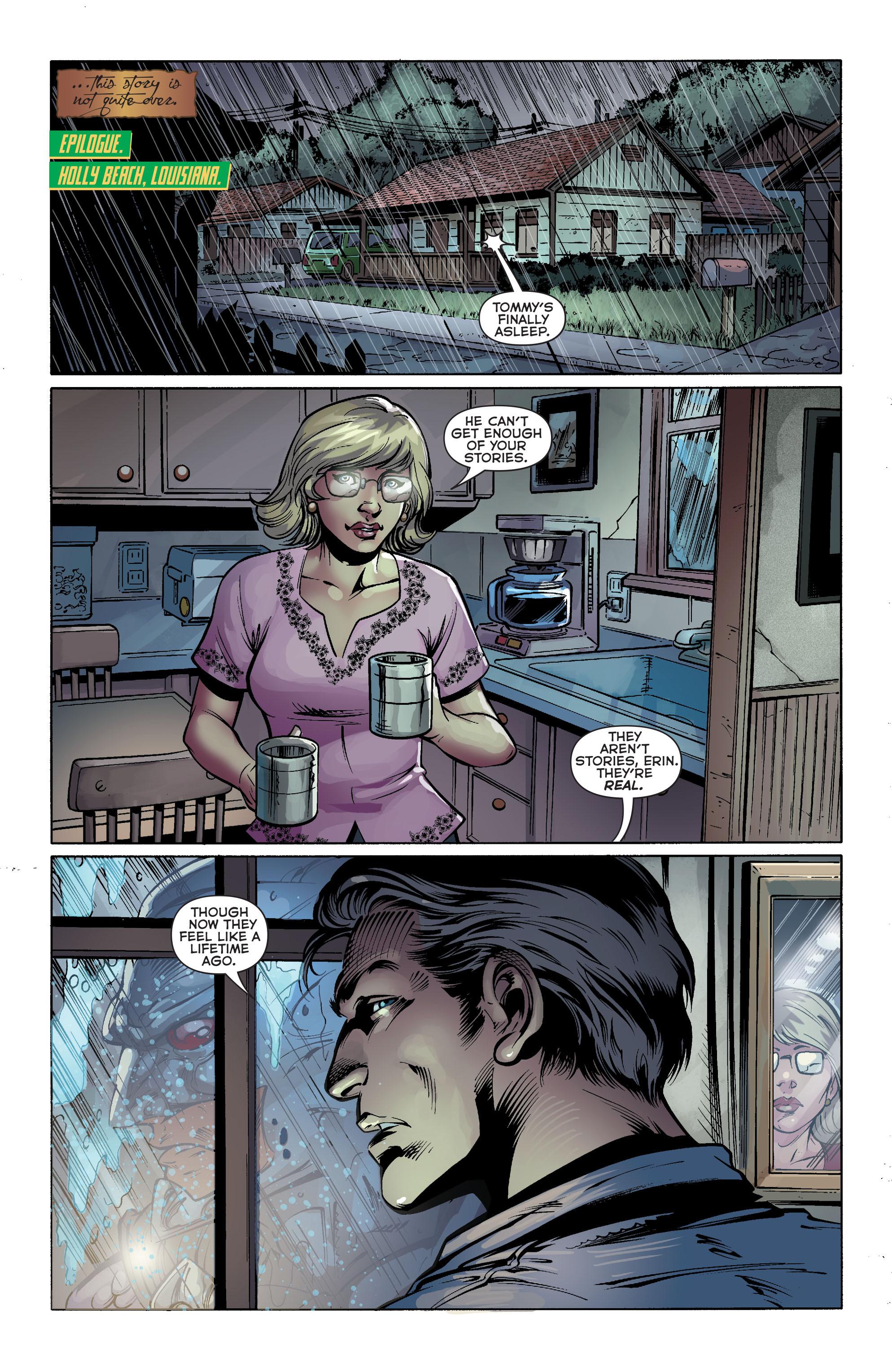 Read online Aquaman (2011) comic -  Issue #25 - 27
