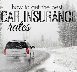 Car Insurance - Tips on Getting the Best Car Insurance Rates