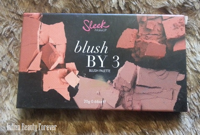 Sleek Makeup Blush by 3  Lace Blush Palette Review