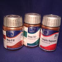 Quest Vitamins: Mega B 50, Omega 3 & Synergistic Magnesium