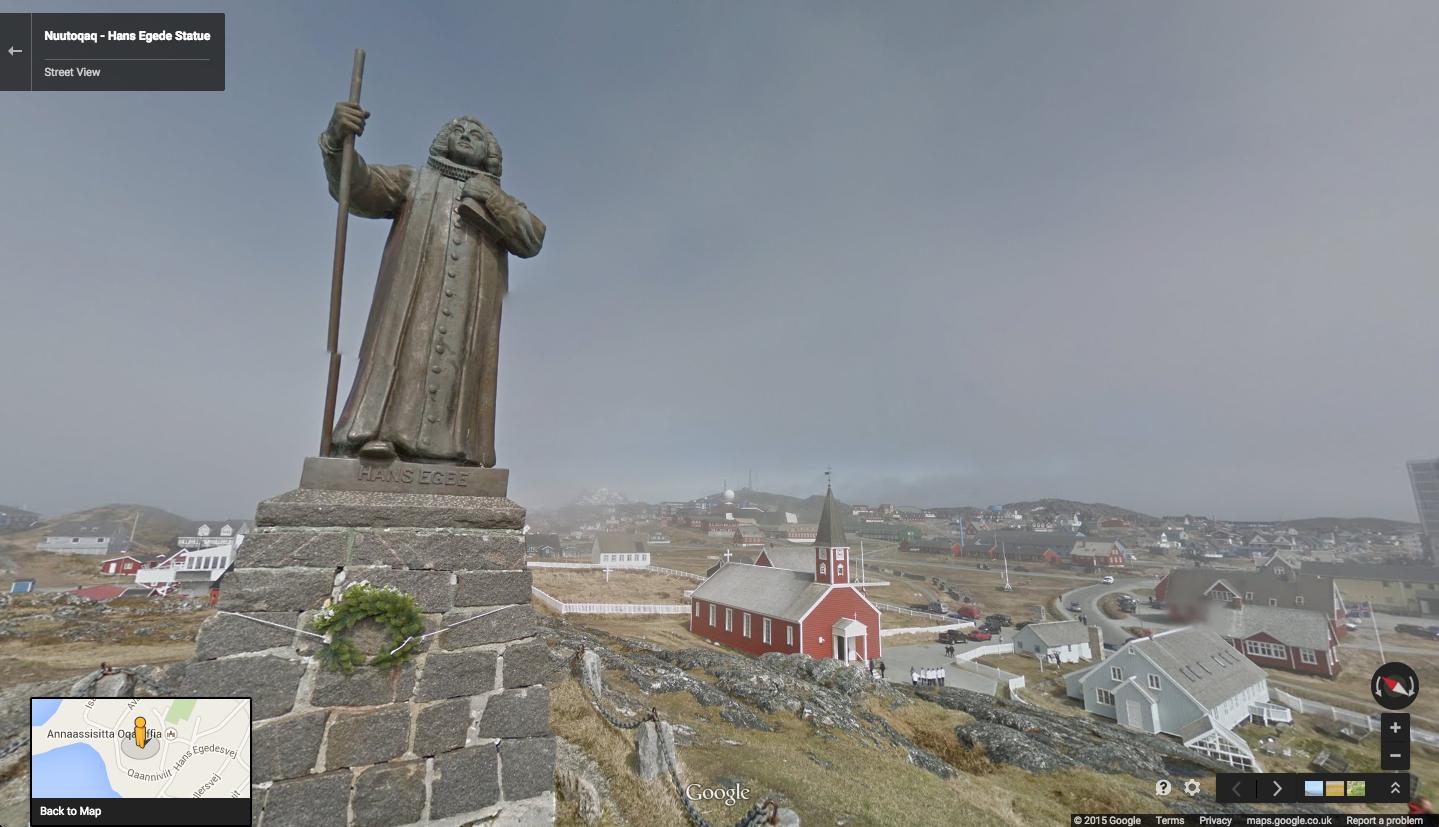 Google Lat Long Greenlandic Fjords And Viking Ruins Await