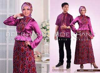 Model Baju Batik Buat Resepsi Pernikahan