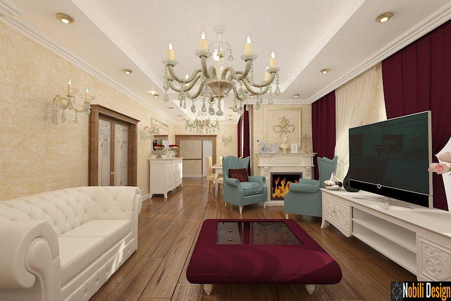 Design interior living clasic casa Constanta-Design Interior-Amenajari interioare