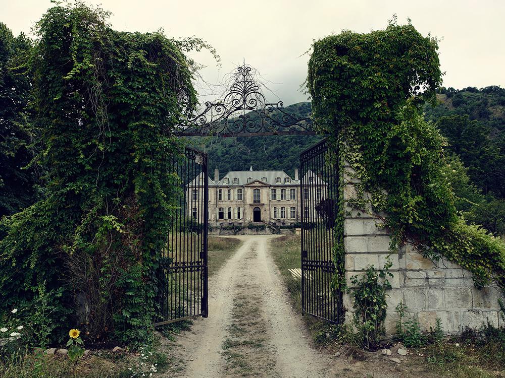 Gates of Chateau GudanesFrench Chateau