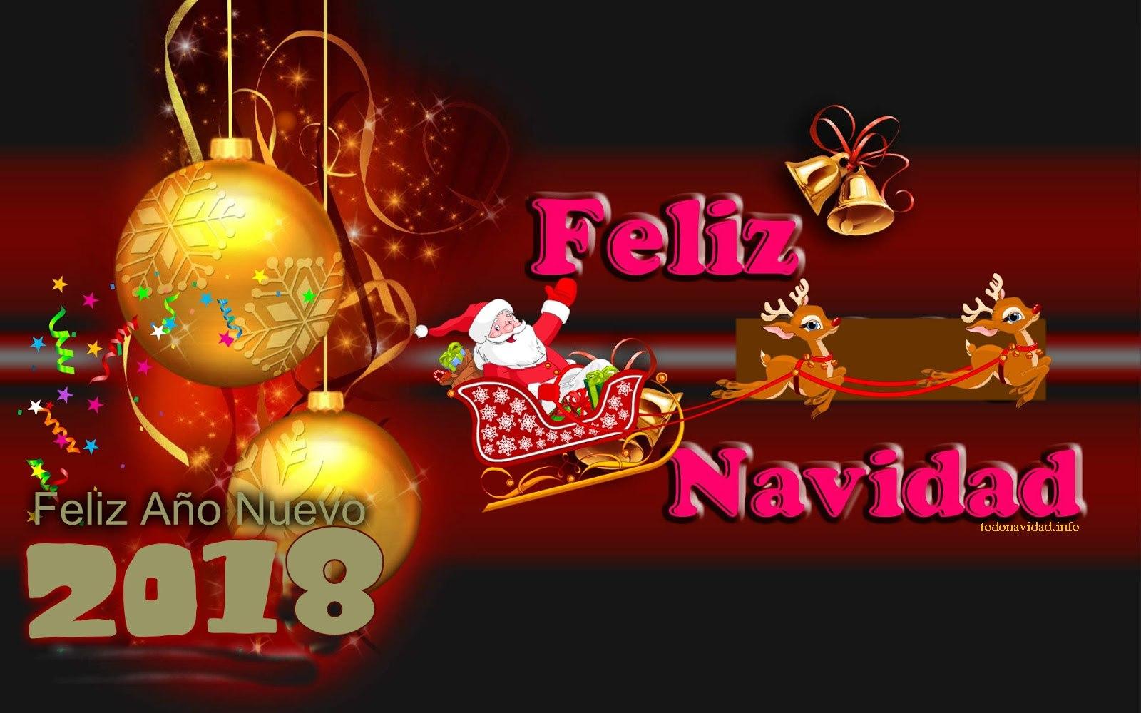 Feliz navidad y feliz a o nuevo 2018 - Frases de feliz navidad y prospero ano nuevo ...