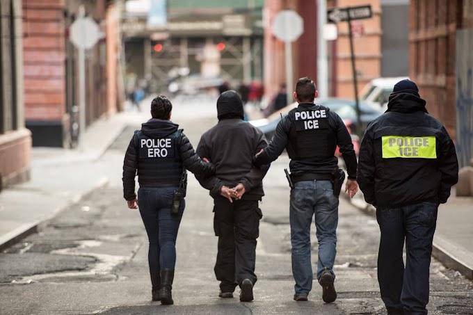 Catorce dominicanos con antecedentes criminales arrestados por ICE en suburbios de Nueva Jersey