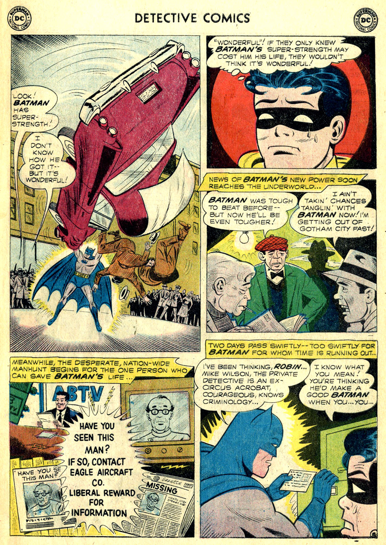 Read online Detective Comics (1937) comic -  Issue #268 - 7