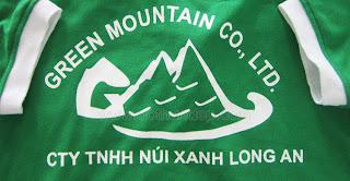 Đồng phục Công ty Núi Xanh Long An