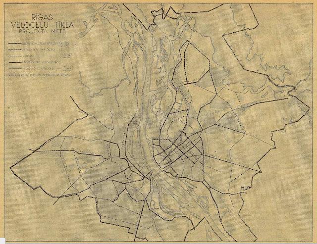 cycling map riga, nazi ocupation riga,