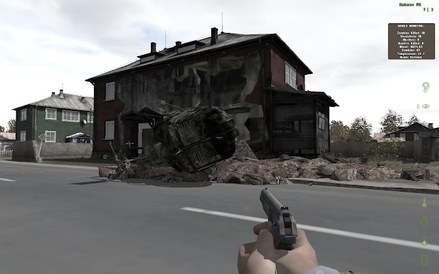 DayZ crashed helicopter